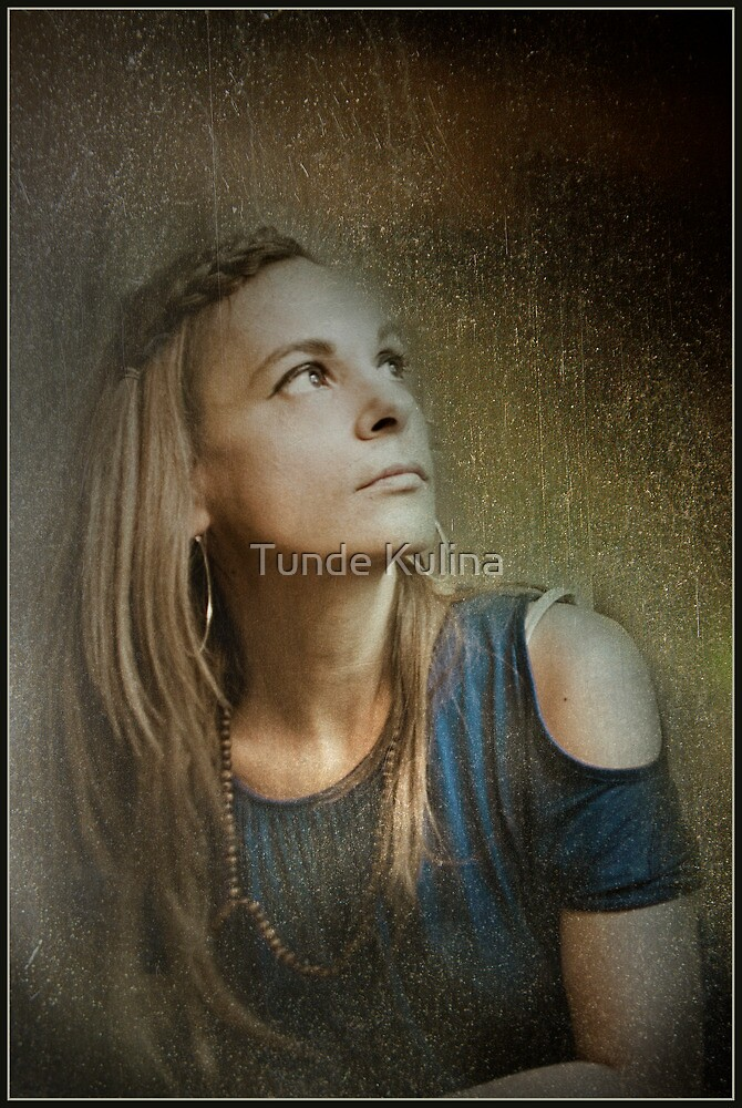 Selfportrait by Tunde Kulina