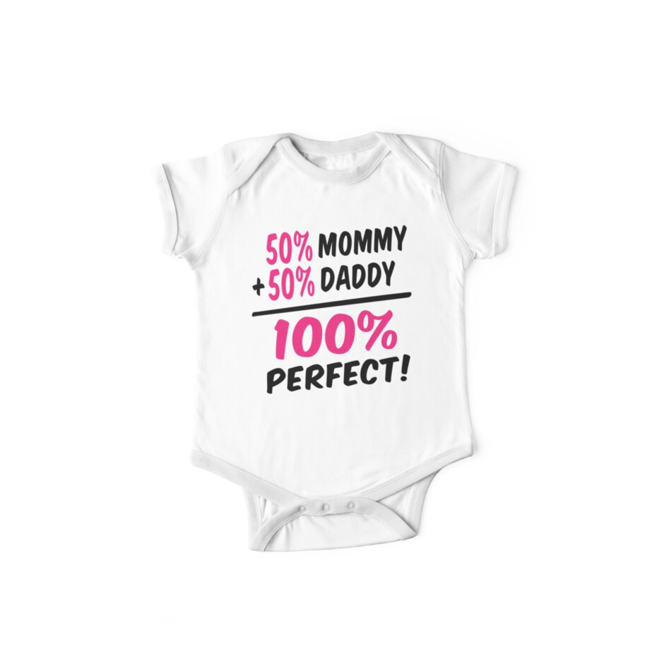 100 percent perfect baby girl by Robin Lund