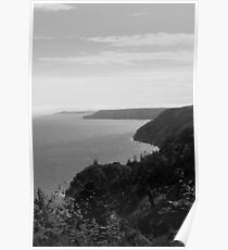 Fundy Trail Coast Line.. Poster