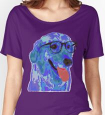 Hipster Dog Women's Relaxed Fit T-Shirt