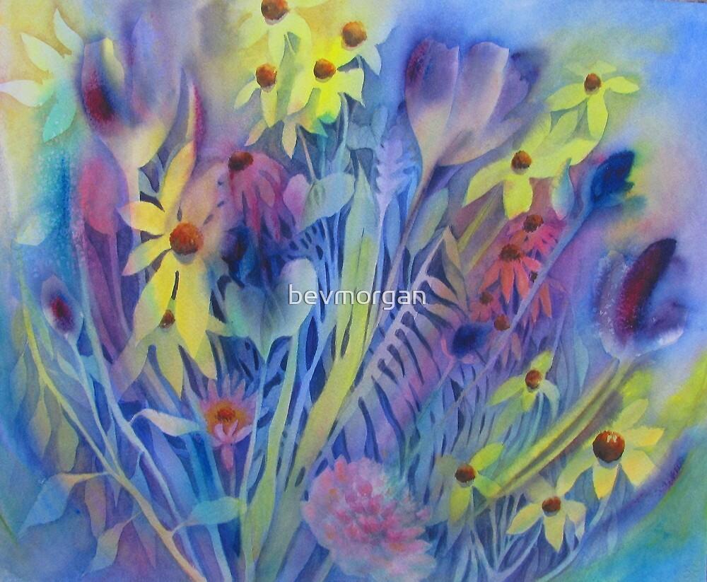 Floral Spray by bevmorgan