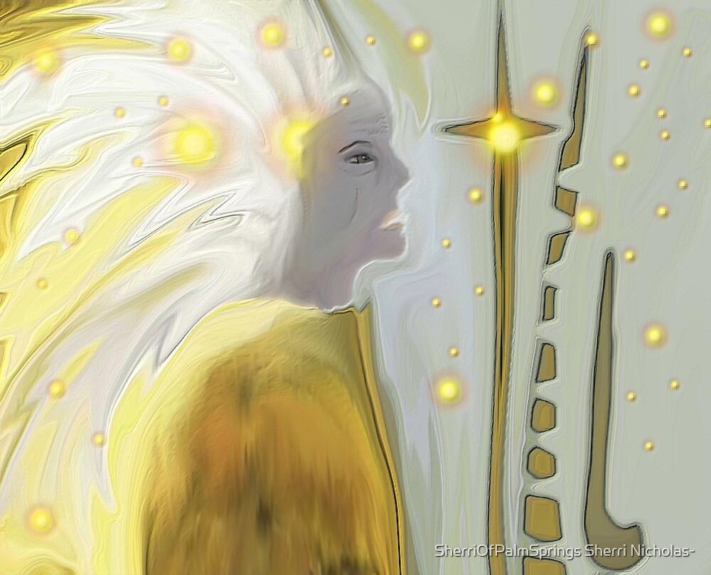 SPIRIT OF THE INDIAN CHIEF- BROKEN PROMISES by SherriOfPalmSprings Sherri Nicholas-