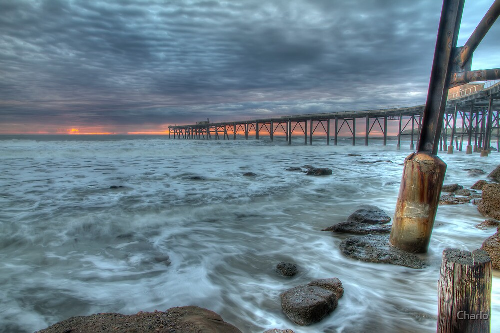 Catherine Hill Bay Jetty by Charlo