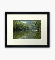 Tranquil  reflection Framed Print