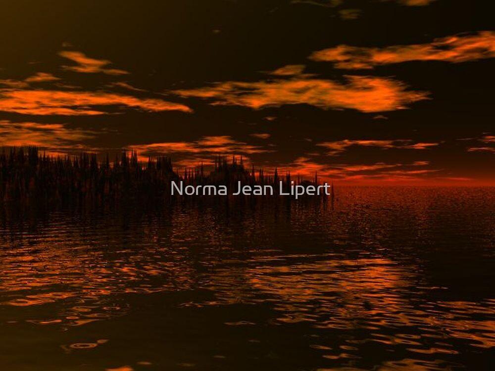 Foreboding Sky by Norma Jean Lipert