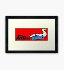 MURRR!!!!duck Framed Print