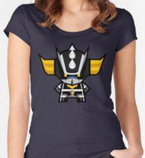 Mekkachibi Black Grendizer Women's Fitted Scoop T-Shirt
