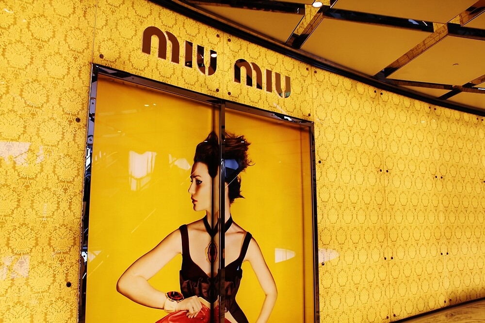 MIU MIU Store by Vicki Alex