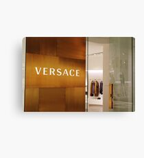 Versace Store Canvas Print