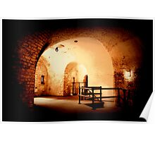 fort nelson tunnels Poster
