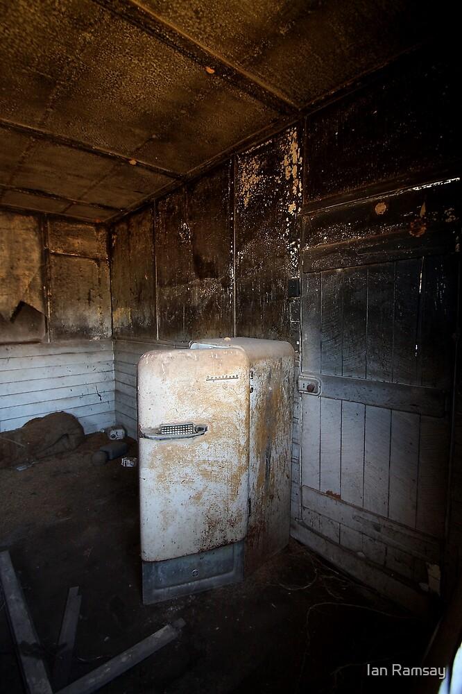 The fridge, Goolma NSW by Ian Ramsay