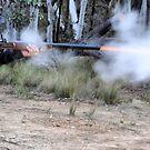 Muzzle Loading Fun - Hill Ends NSW Australia by Bev Woodman