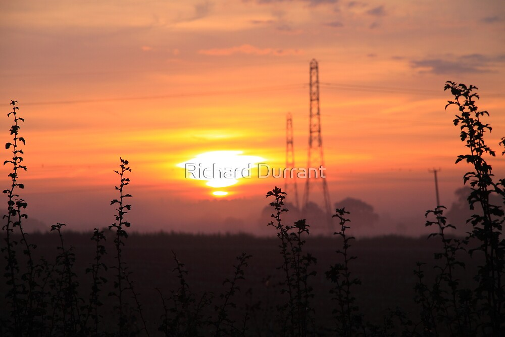 Pylon Sunrise by Richard Durrant