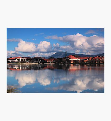 Winters Day Lake Tuggeranong Canberra  no 5 Photographic Print