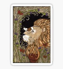The Lion and the Mouse  Sticker