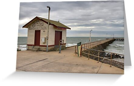 St Leonards Pier - Bellarine Peninsula by Colin  Ewington