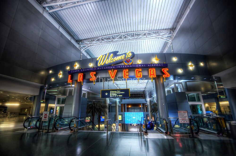 Vegas Airport by Yhun Suarez