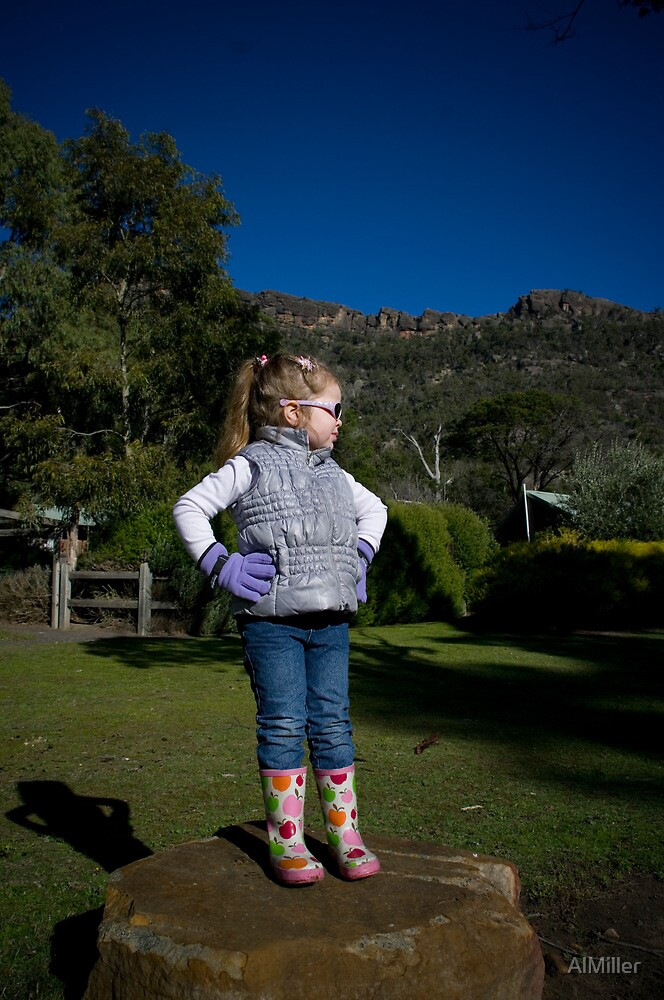 Mountain Girl by AlMiller