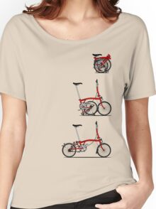 I Love My Folding Brompton Bike Women's Relaxed Fit T-Shirt