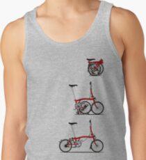 I Love My Folding Brompton Bike Tank Top