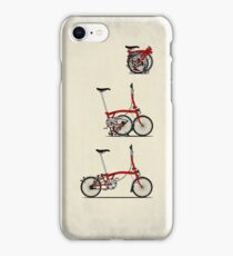 I Love My Folding Brompton Bike iPhone Case/Skin