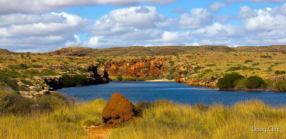 Yardie Creek in Exmouth Western Australia by Doug Cliff