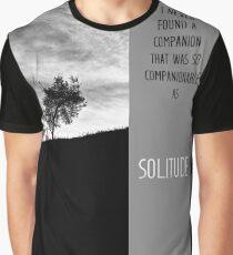 Henry David Thoreau - Solitude Graphic T-Shirt