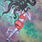 Medusa Runs The 25K by Ellen Marcus