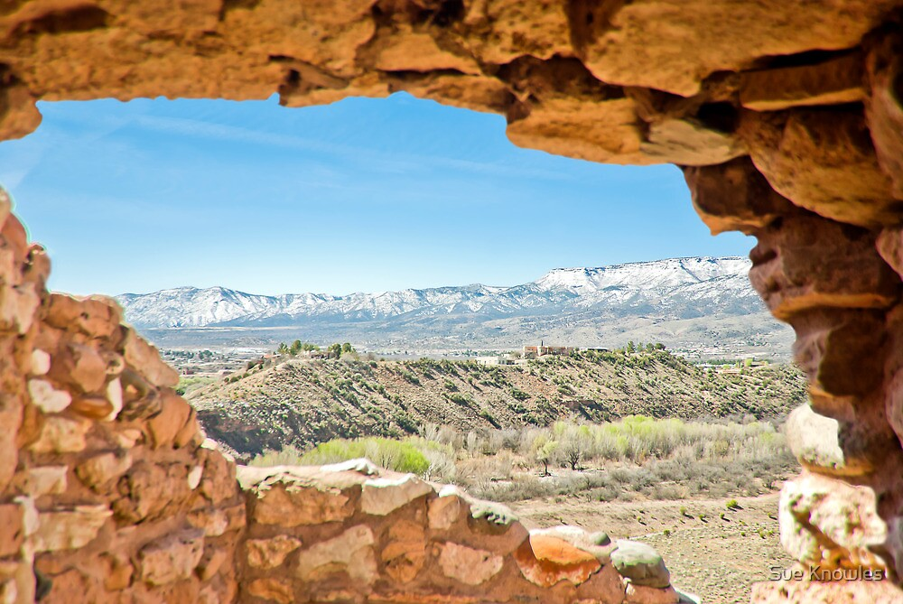 Tuzigoot View by Sue Knowles