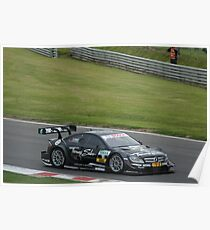 DTM Racing Brands Hatch 2012 Poster