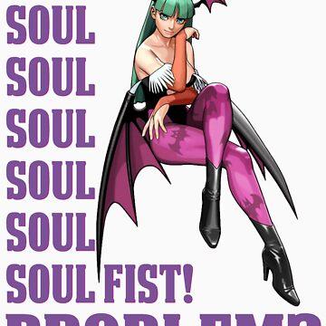 Morrigan Soul Fist by Sonson21