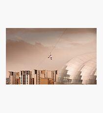 Zip Wire - Bear Grylls Photographic Print