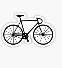 Fixie Bike Stickers Redbubble