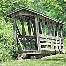 Volant Mill Covered Bridge by Monnie Ryan