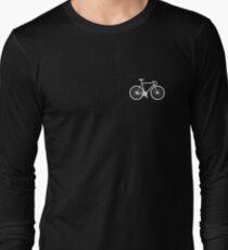 bicycle - white Long Sleeve T-Shirt