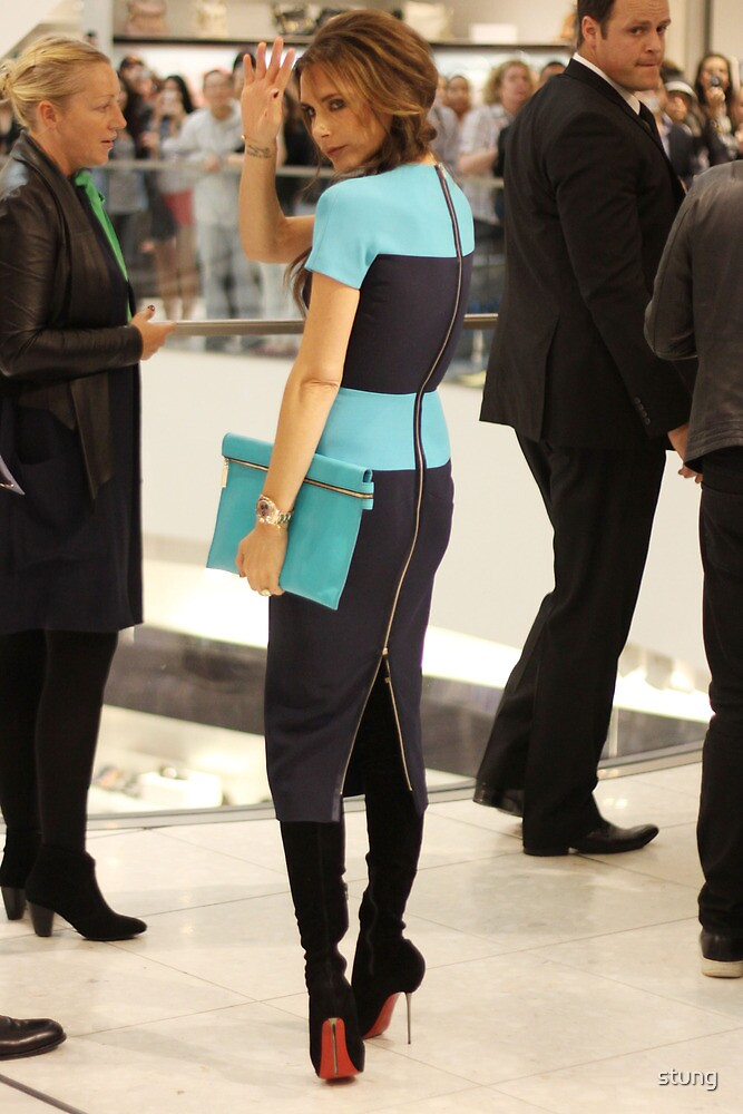 Victoria Beckham At Holt Renfrew Vancouver by Stung  Photography