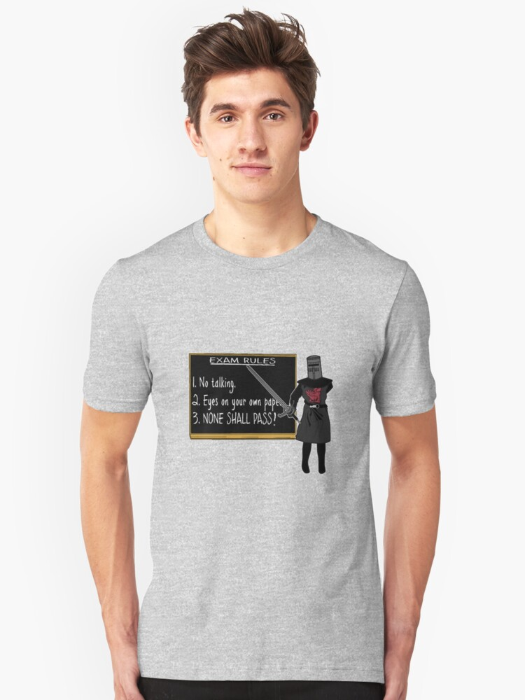 None Shall Pass Unisex T-Shirt Front