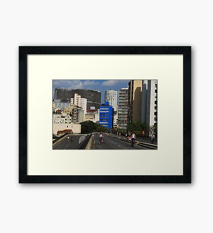 Sao Pauloe Framed Print