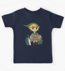 Looking For Work - Legend of Zelda Kids Clothes