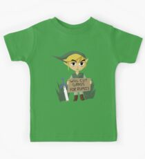 Looking For Work - Legend of Zelda Kids Tee