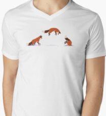 The Majestic Fox Men's V-Neck T-Shirt