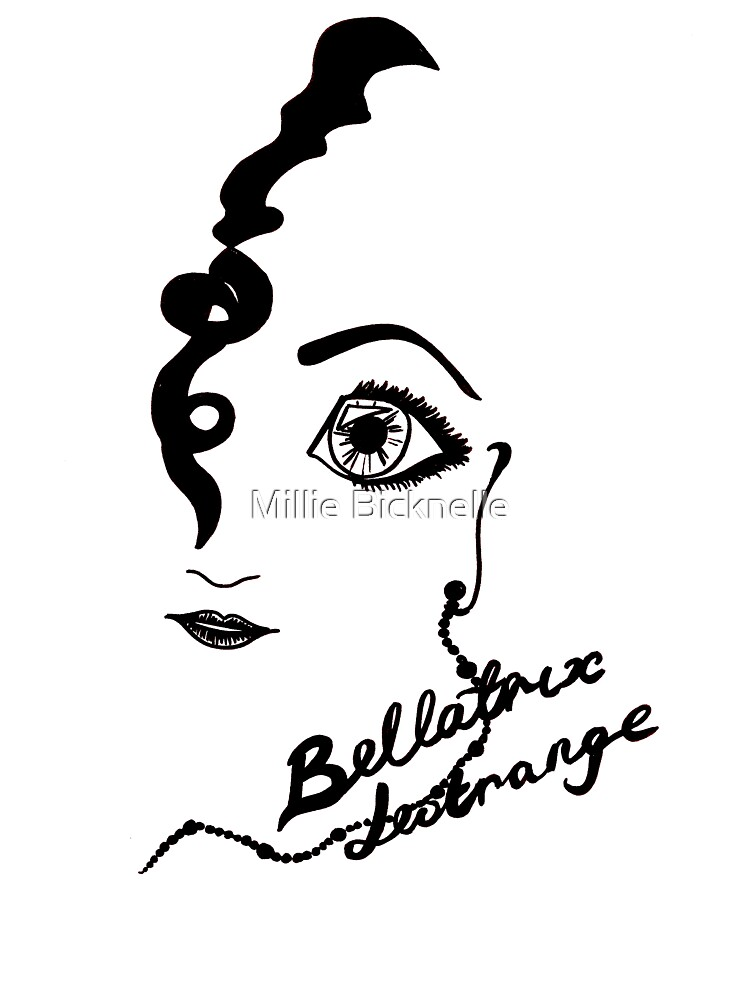 Bellatrix Lestrange by LittleMizMagic
