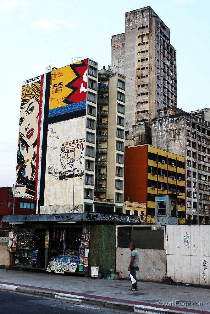 Sao Paulo by Yuval Fogelson