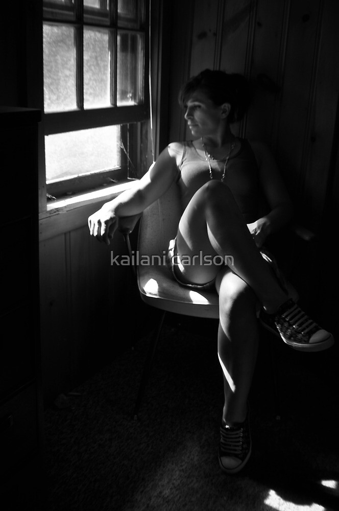 Need of Relief, self portrait by kailani carlson