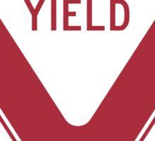 Yield Sticker