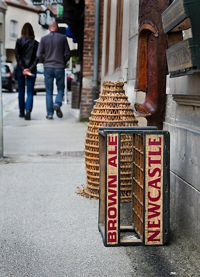 Newcastle Brown Ale Crate by Patricia Jacobs DPAGB LRPS BPE4