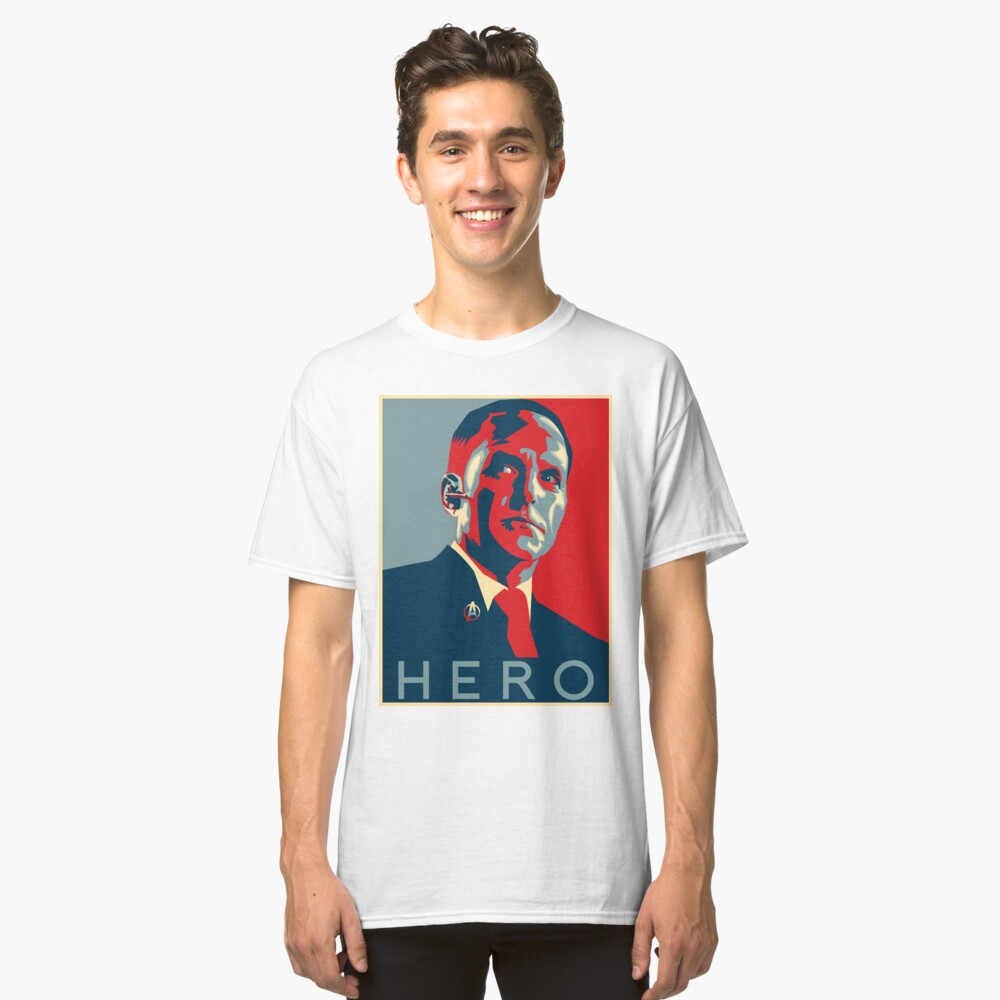 Hero Classic T-Shirt Front