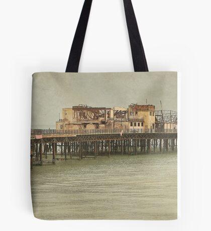 Brighton Pier Tote Bag