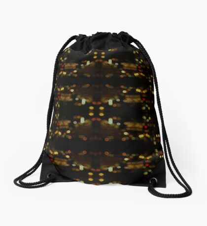 City Lights Drawstring Bag