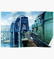 Brunel's Saltash bridge. Poster